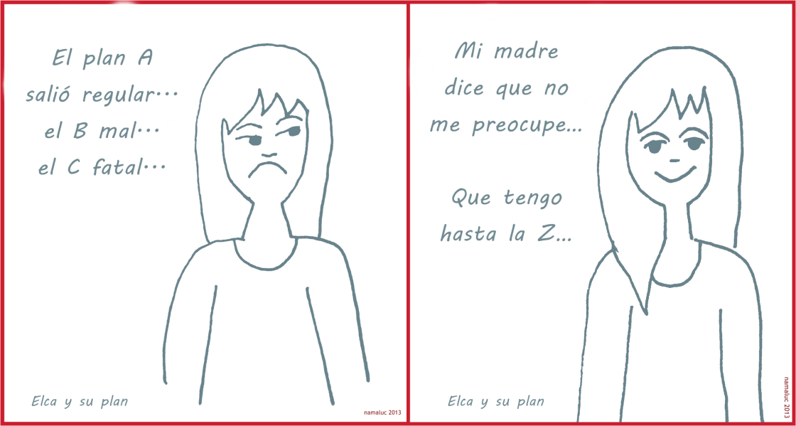 Elca y su plan - namaluc