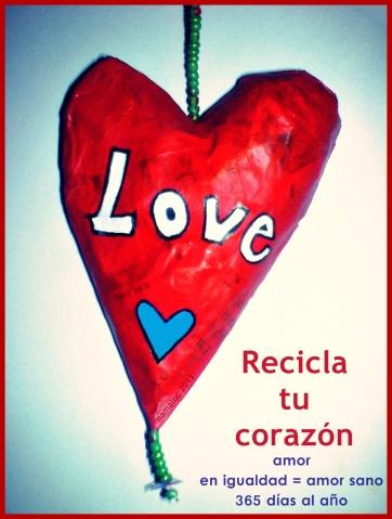 recicla tu corazón - namaluc WP